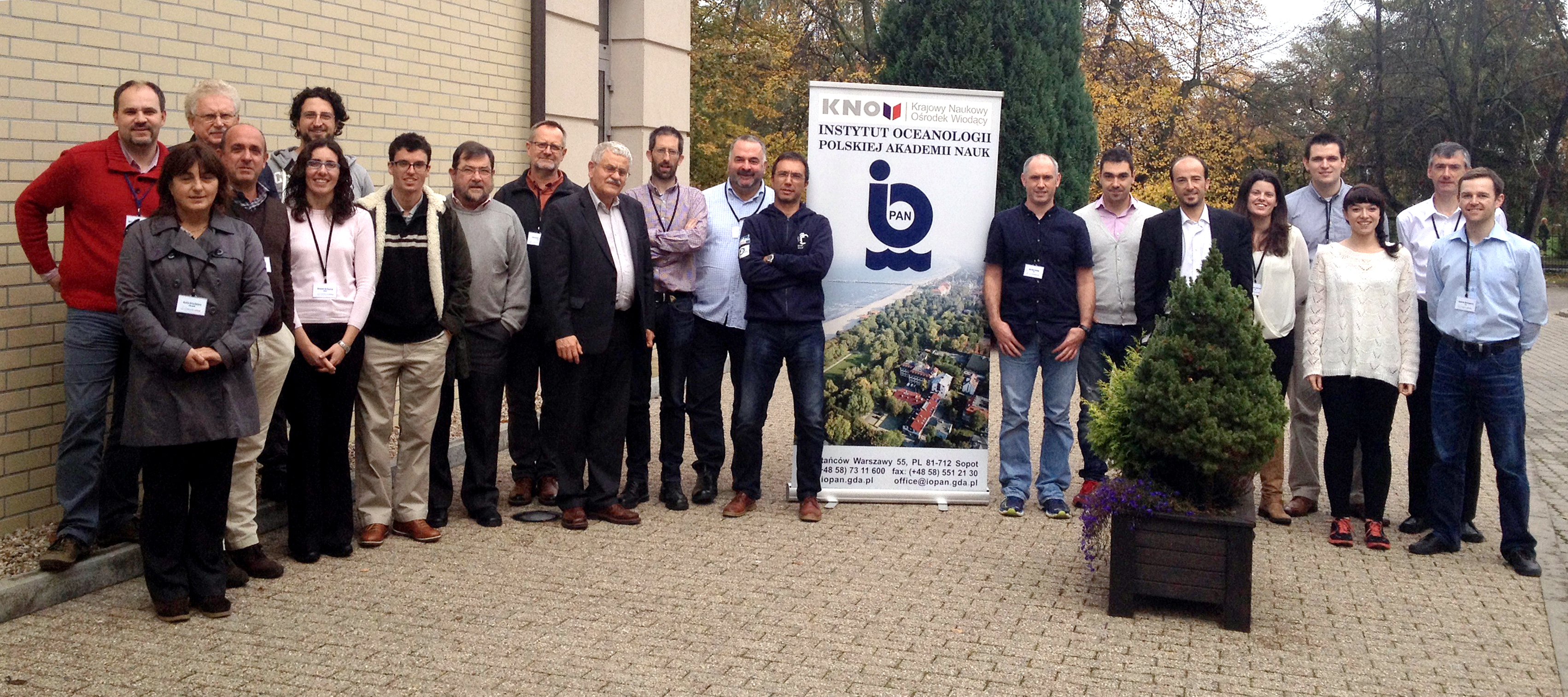 COMMON SENSE partners at annual meeting in Sopot Poland