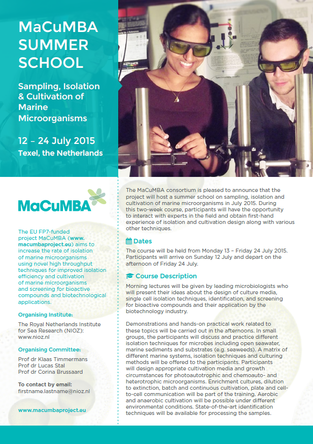 MaCuMBA summer school image