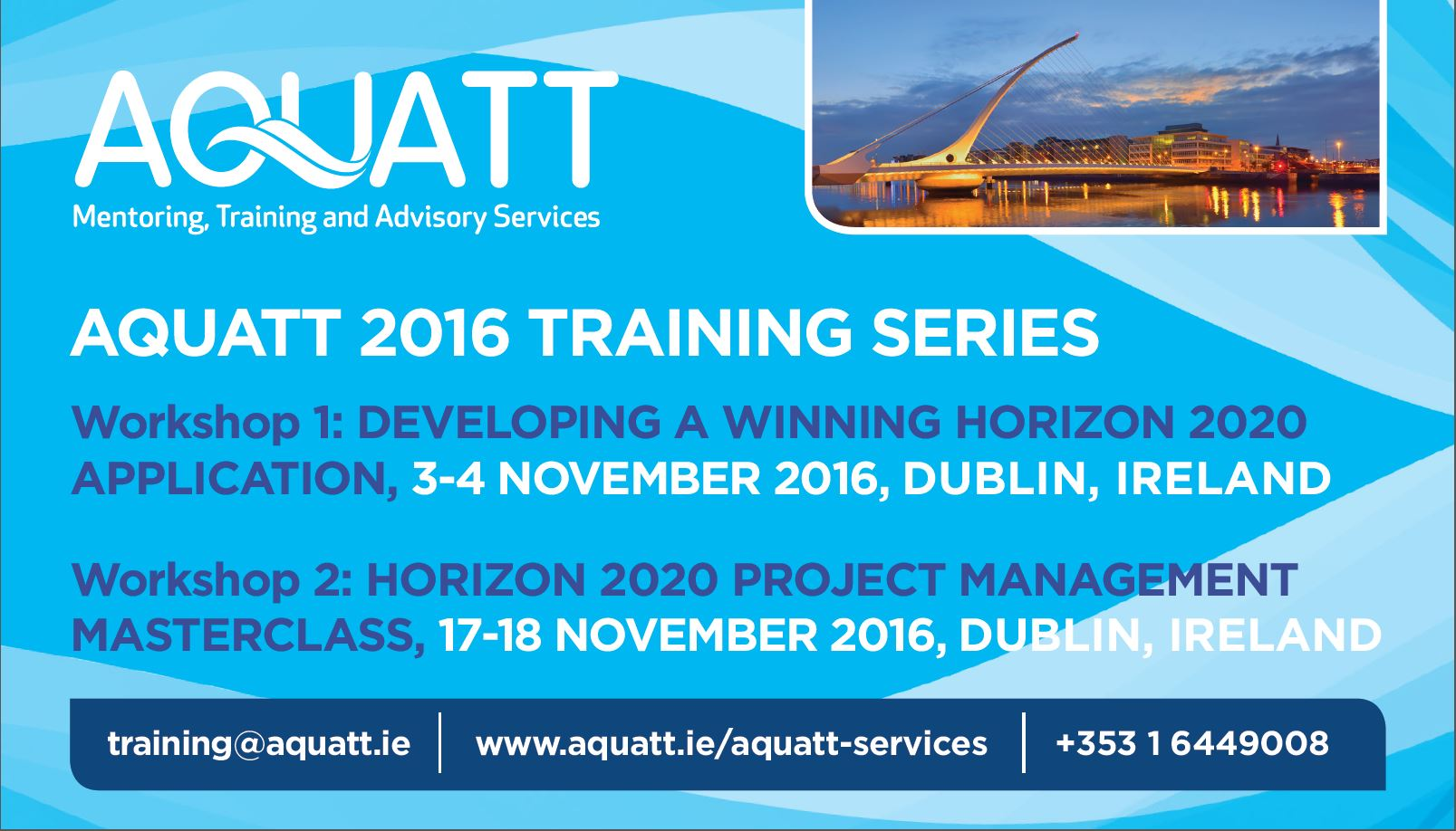 AquaTT Training Courses