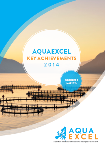 AQUAEXCEL Key Achievements Booklet 3 Cover