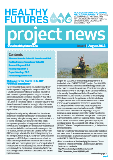 HEALTHY FUTURES Newsletter 4