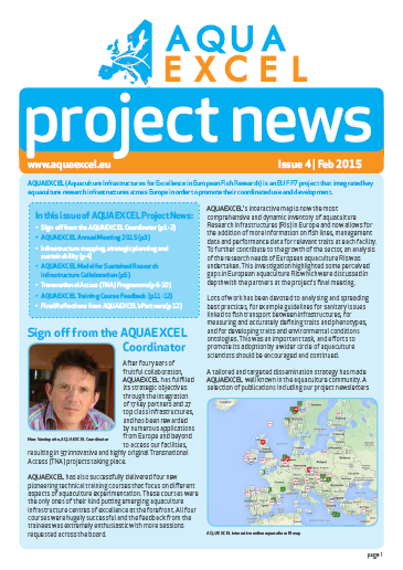 AQAYEXCEL Newsletter Issue 4 cover