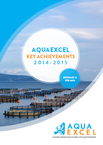 AQUAEXCEL Key Achievements Booklet 4 cover