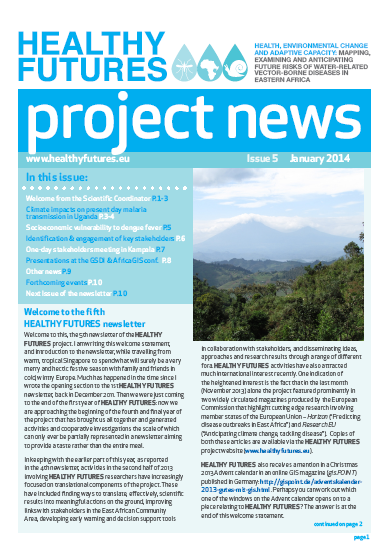 HEALTHY FUTURES Newsletter 5