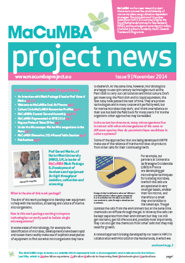 MaCuMBA Newsletter Issue 9 November 2014 Cover