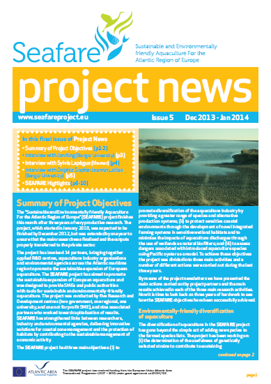 SEAFARE Newsletter Issue 5
